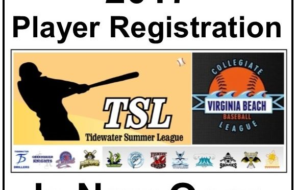 2017 Player Registration Open